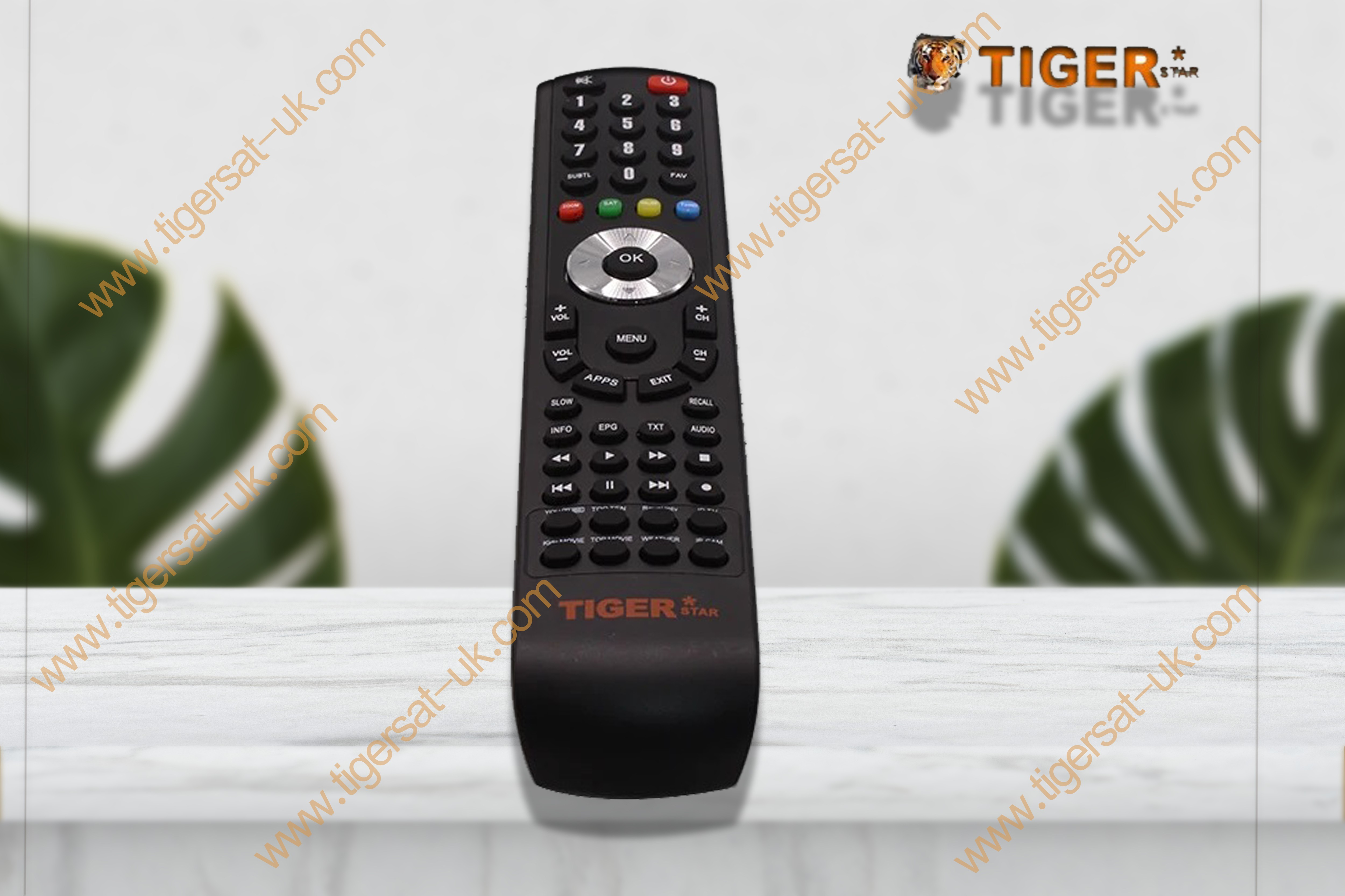 remote control for Tiger star all Z model