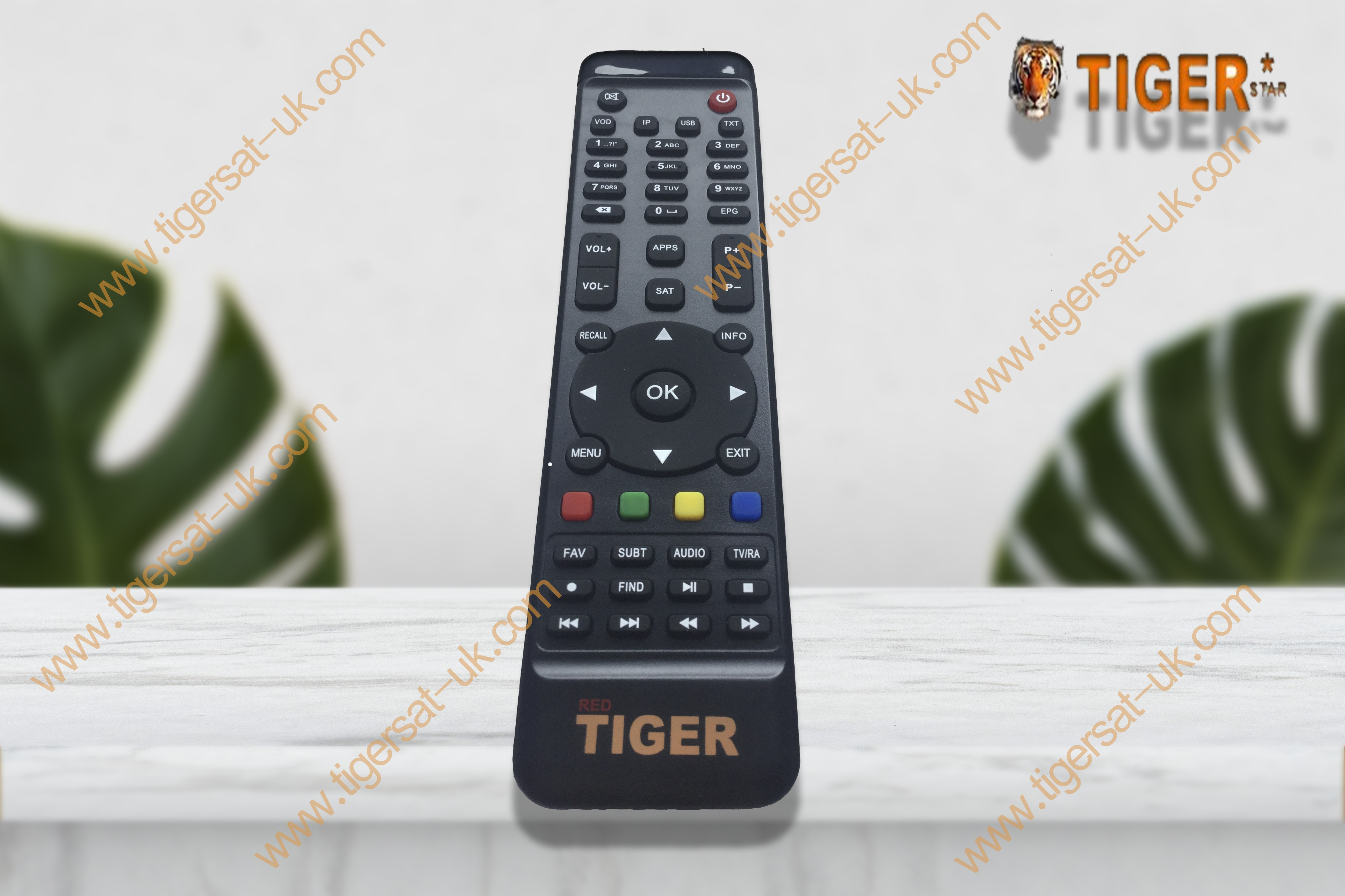 remote control for Tiger star all I model